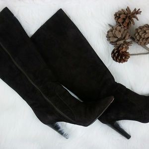 VIA SPIGA Women's Suede Leather Boots Italy